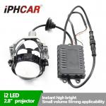 IPHCAR Super Bright 35W Automotive & Motorcycle Led Projector Headlights High Low Beam with LG Chip