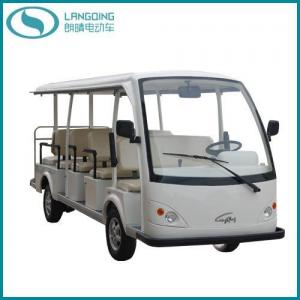 China CE Electric Car Sightseeing Shuttle Bus Tourist Coach 14 Seats (LQY140A) on sale