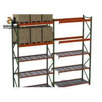 China 100kg-120kg / Layer Powder Coated Ral System Light Duty Storage Rack Color Pallet Shelf Ideas on sale