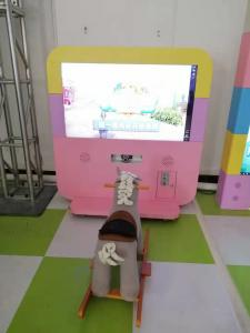China Led Screen Amusement Game Machine Pony Running Theme With Cute Modeling on sale