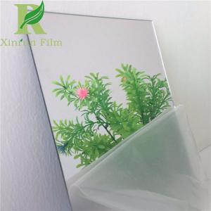 China 0.03-0.15mm Transparent Adhesive PE protective film for Mirror Surface on sale