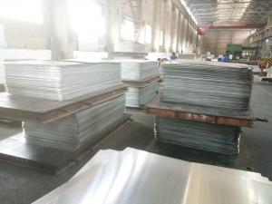 China Embossed / Mill Finish 3003 Aluminum Sheet 3mm Corrosion Resistance For Building on sale