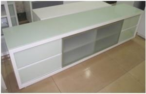 China High gloss modern MDF chest DS17 on sale