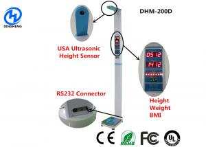 Quality Medical height weight scales with thermal printer and ultrasonic height sensor for sale