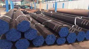 Quality Black Surface Carbon Steel Seamless Tube ASTM A53GR.B Structural Steel Pipe for sale