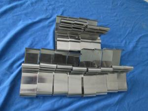 China Custom Metal Stamping Parts 0.3-5mm Thickness Electrophoresis With Aluminium Copper on sale