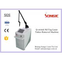 Articular Laser arm Q Switched ND YAG Laser Tattoo Removal Machine For freckle removal