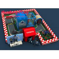 China Interior Toddler Soft Play Equipment For Children'S Play Area Racing Customized on sale