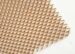 Stainless Steel Flexible Metal Mesh Drapery With 1.2MM Wire For Interior Drepary
