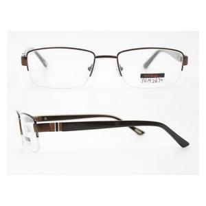 China fashionable designer semi rim eyeglasses frame on sale