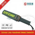 Detector de metais Handheld recarregável, FCC à mão ROHS do varredor do corpo