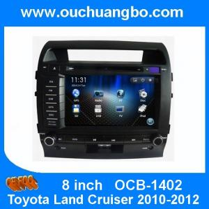 China Ouchuangbo Car Head Unit DVD Radio for Toyota Land Cruiser 2010-2012 GPS Navigation Media Player OCB-1402 on sale
