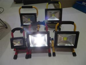 China High Quality 10W 20W 30W 50W LED Rechargeable Floodlights 2700-6500k Color Temperature on sale
