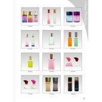 50 ML Frosting Decorative Glass Bottles With Surlyn Caps And Perfume Pump