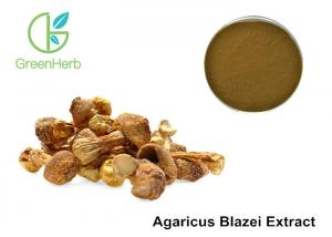 China Agaricus Blazei Extract Promoting Hematopoiesis ,  Medicinal Mushroom Powder on sale