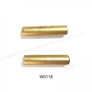 China Wholesale tube shape gold metal aglets,various size and color are available on sale