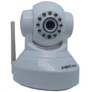 China OEM 12m IR Wireless WIFI Pan / Tilt Control CCTV Night Vision IP MJPEG Video Cameras on sale
