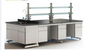 China C - Frame School Laboratory Furniture Work Station Integrated With Door And Drawer on sale