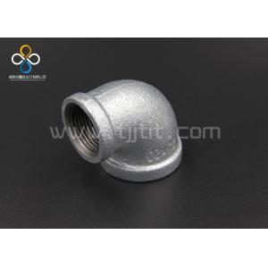 China Garnitures de tuyau galvanisées à chaud de fonte malléable réduisant les coudes 90 on sale