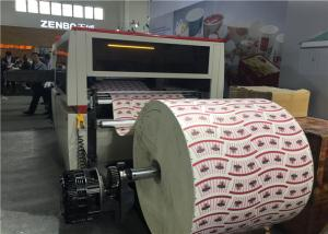 Quality Automatic FD1080 * 550 Paper Cup Printing Machine With Die Cutting Machine for sale