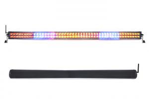 China 50 288W White Red Blue Amber Srobe RGB Led Light Bar Cree Chip Remote Control on sale