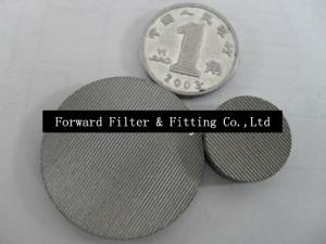 China Single And Multi Layer Wire Mesh Filter Disc Used Screening Of Grain Or Oil on sale