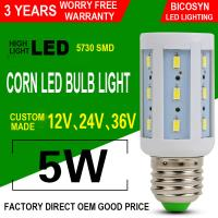China 5W LED Corn COB Bulb E26 E27 5730 SMD LED Lamp Bulb (40w Incandescent Bulbs Equivalent), 360° Lighting, Non-Dimmable on sale