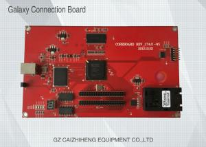 China Gakaxy UV Flatbed Inkjet Printer PCB , Red Galaxy Connection Board on sale