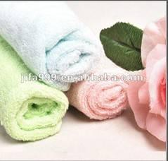 China Plain solid color dyed towels on sale