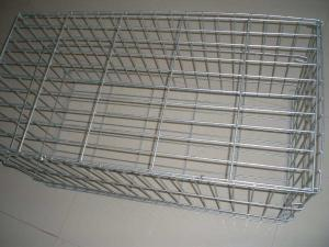 China Hot Dipped Galvanized Welded Gabion Box , Welded Gabion Baskets For Environment Protection on sale