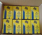 20pk white unscented  household candle,20pcs in printed boxes,24boxes/outer carton