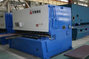 China Plate shearing machine QC12Y series, reliable quality for steel tower on sale