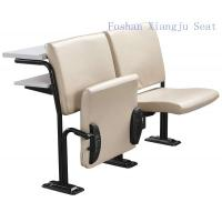 Cold Rolled Steel Frame Geniune Leather with Foam School Desk And Chair With Writing Desk