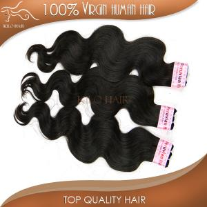 China body wave hair virgin peruvian hair machine weft sew in weave human hair extension on sale