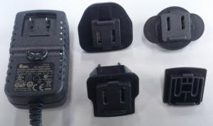 China 2.4A International Power Plug Adapters Multi-prongs KSAD series with EN60950 on sale