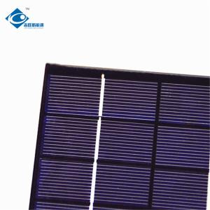 China 2W 6V Epoxy Resin Solar Panel ZW-136110-3 mono Lightweight Silicon Solar PV Module for electric bike solar charger on sale
