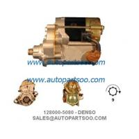 China 128000-5080 228000-0210 - DENSO Starter Motor 12V 1KW 9T MOTORES DE ARRANQUE on sale