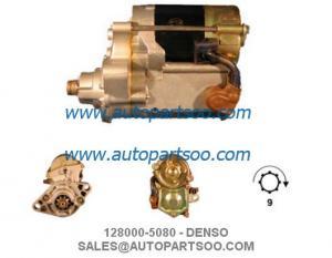 China 128000-5080 228000-0210 - DENSO Starter Motor 12V 1KW 9T MOTORES DE ARRANQUE on sale