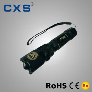 China Rechargeable IP65 Explosion Proof Flashlight Cree Led Police Flashlight on sale