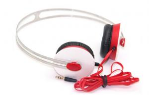 China Teenager Handsfree Portable Stereo Headphones for Airplane Travel , High Bass on sale
