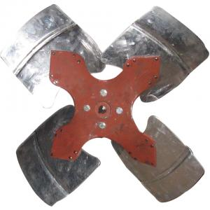 China Aluminum Sheet impeller propeller for axial fan blower on sale