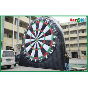 China Durable Inflatable Sports Games , 0.45mm PVC Tarpaulin Inflatable Dart Board 5mH on sale