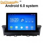 Ouchuangbo car audio gps stereo for Besturn X40 support BT aux USB swc android 6.0 OS