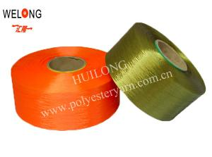 China colored fully drawn yarn for embroidery lace on sale