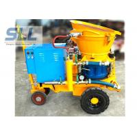 Customized Concrete Shotcrete Machine Cement Sprayer Machine Fire Proof Material
