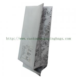 China Side Gusset Coffee Packaging Bags Custom Printed Aluminium Foil Material With Valve on sale