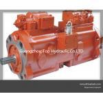 Bomba de pistón de alta presión de la placa oscilante hidráulica de Kawasaki K3V63/112/140/180DT para el excavador