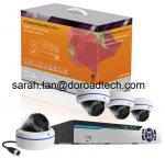 Power Line Communication 4CH NVR Kit Home Surveillance System
