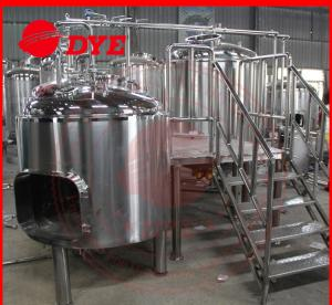 China Stainless Steel Beer Making Machine High Pressure Clean-in-place System on sale
