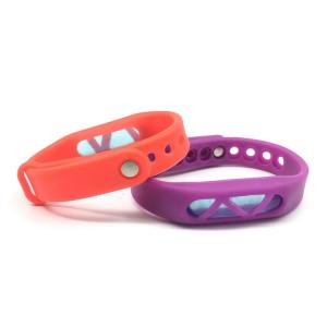 China 100% New Natural Essence Oil anti Mosquito Repellent Bracelet Ajustable Wristbands For Kids on sale